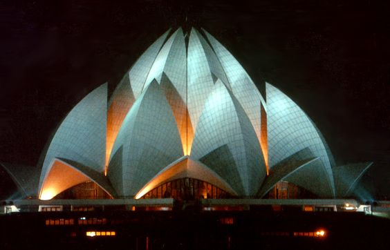 The Bahá'í House of Worship in India. Source: Bahá'í Bibliotheque
